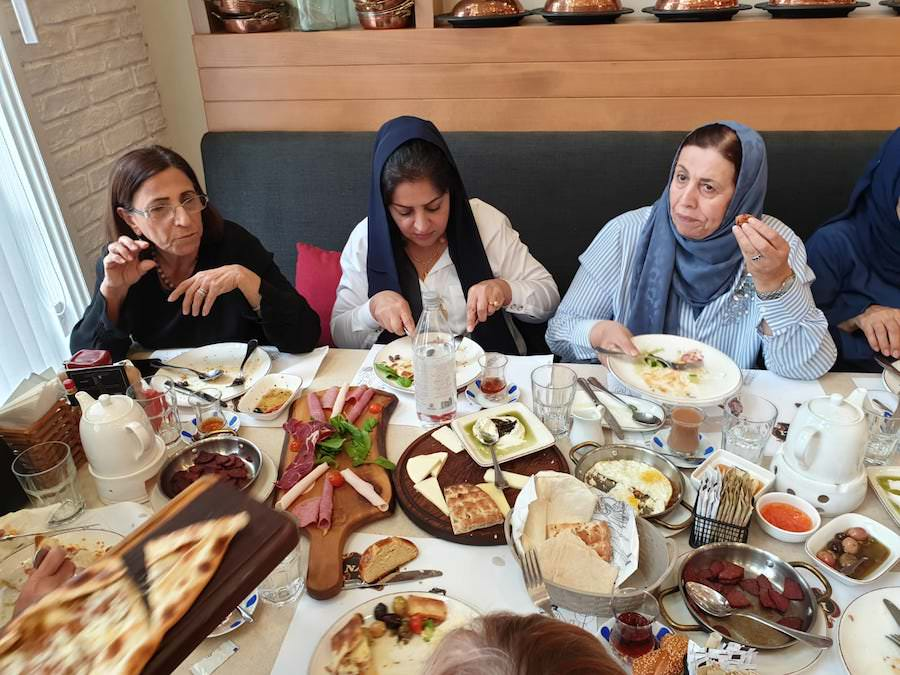 Bahrain Garden Club Turkish Restaurant Gathering