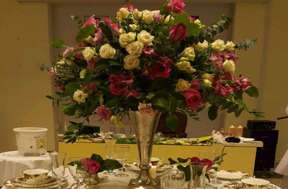 Dinner Table Arrangement