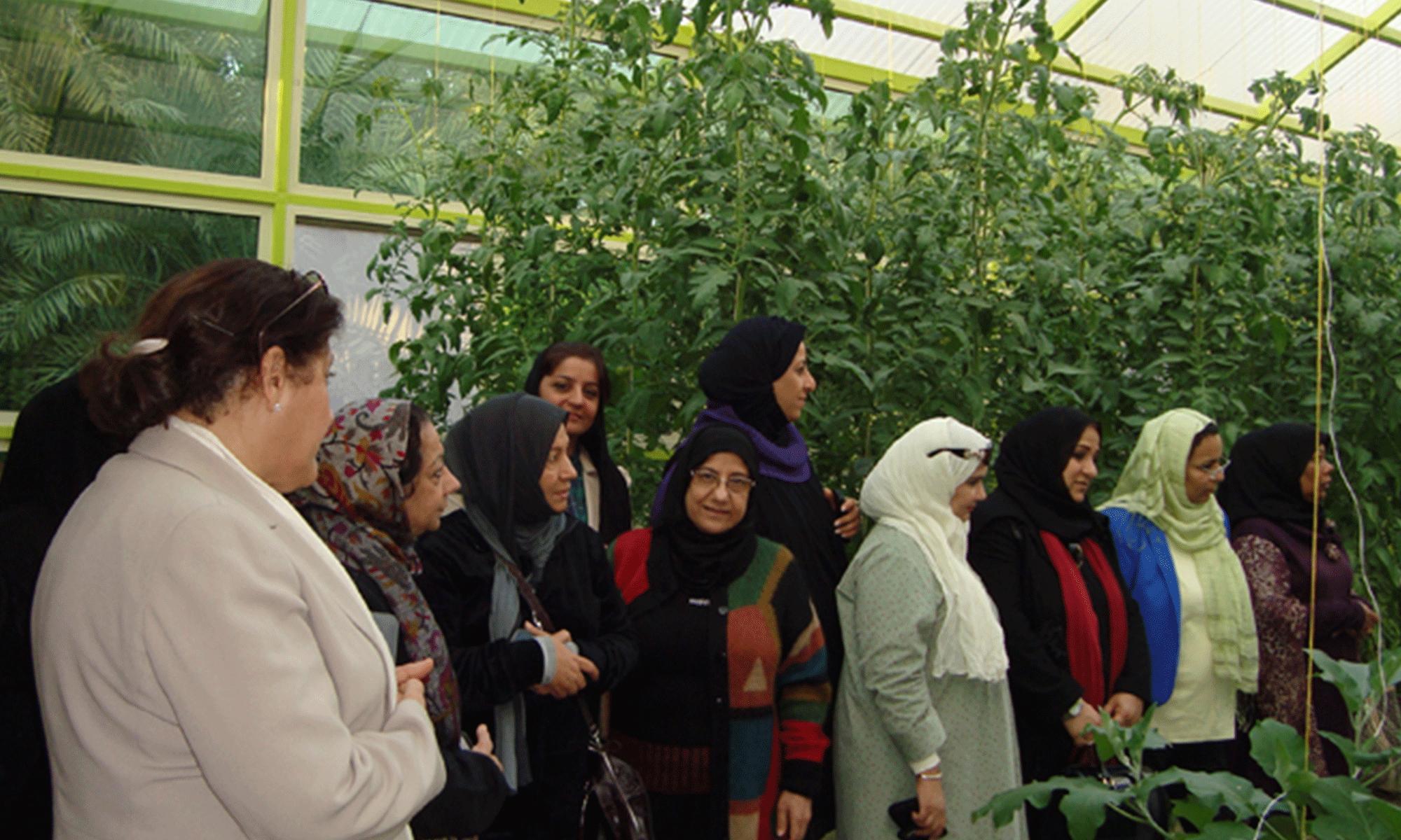 Bahraini Farm Visit