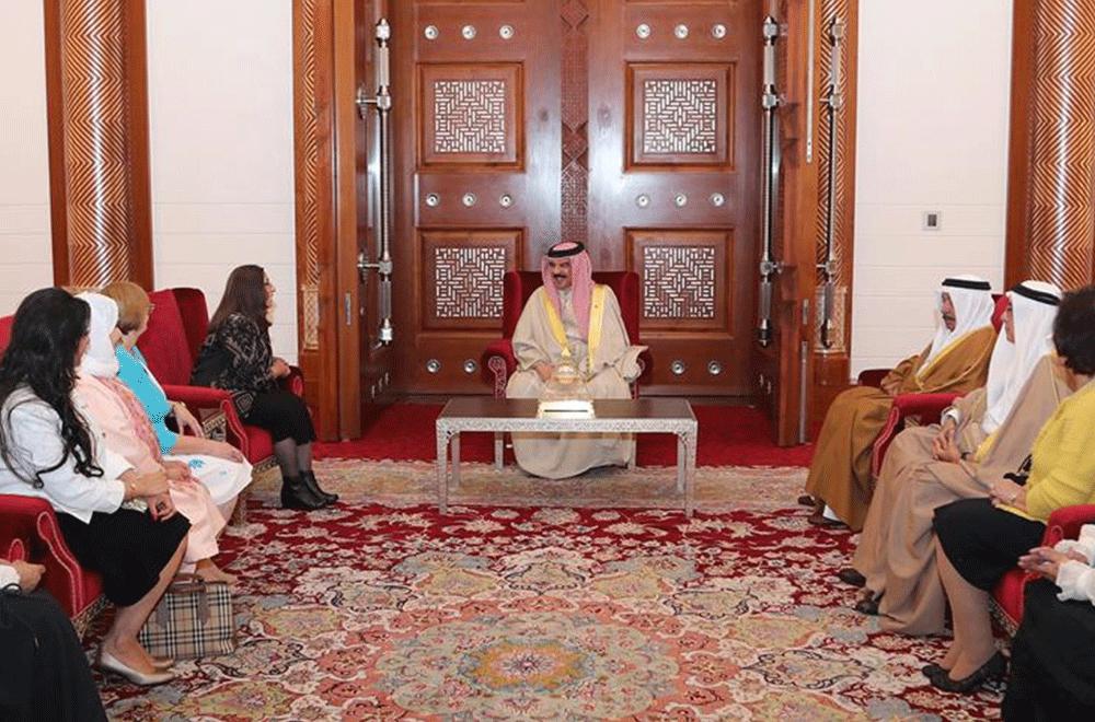 King's visit at Bahrain Garden Club