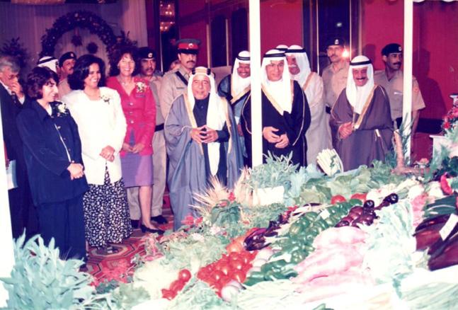 Sheikh Visit at Bahrain Garden Club