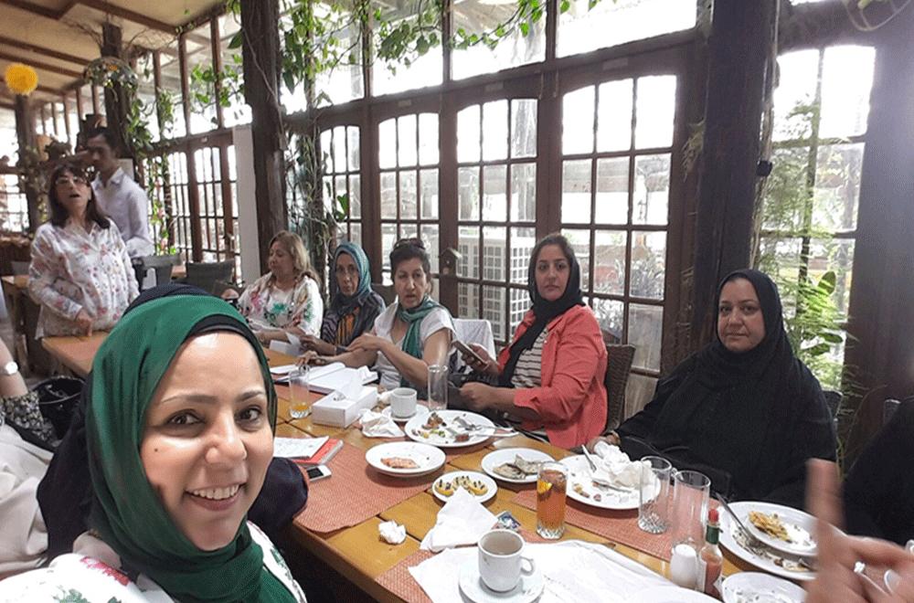 BGC Team at Veranda Cafe