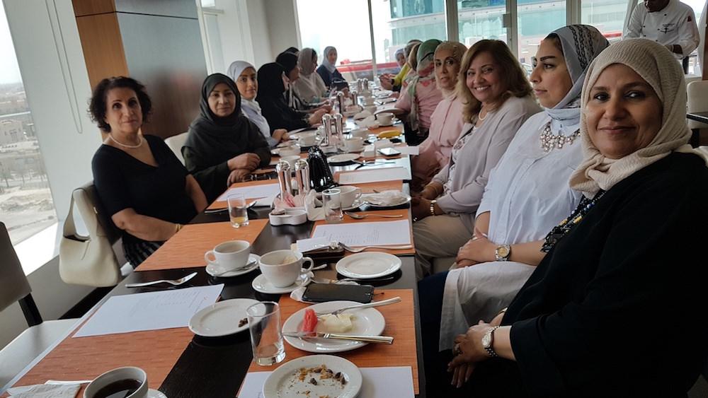 Bahrain Garden Club Breakfast at Swiss-Belhotel