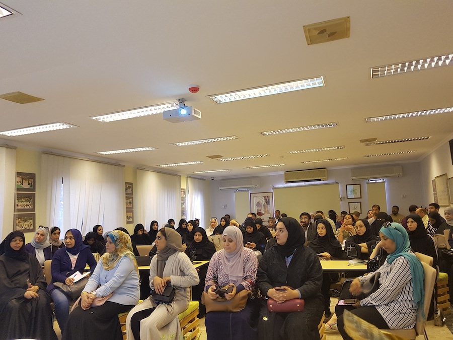 School workshop held at Bahrain Garden Club.
