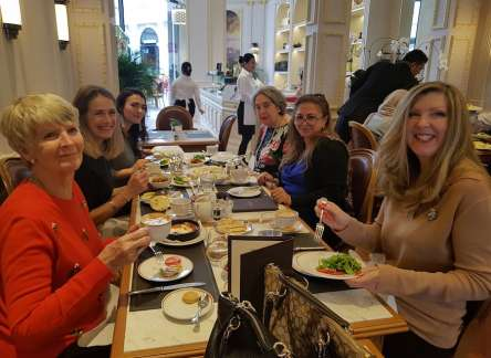 Angelina Lunch for Bahrain Garden Club Members