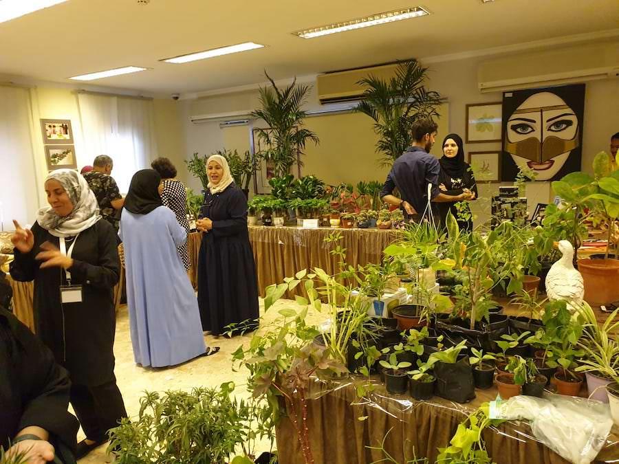 Briefing judges of Bahrain International Garden Show at BGC.